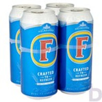 FOSTER LAGER BEER 4 X 440 ML CANS