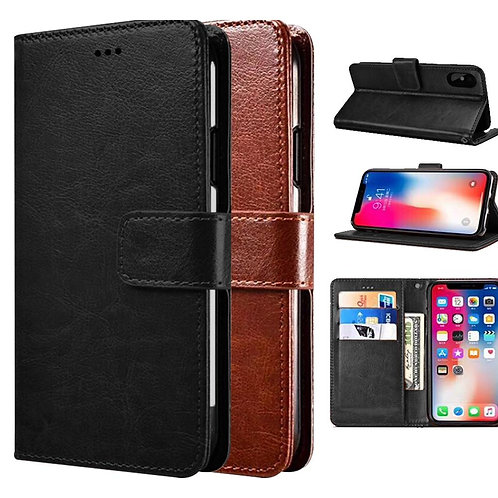 COMPATIBLE PAINT FLIP BOOK POUCH FOR IPHONE XS
