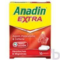 ANADIN EXTRA ASPIRIN PARACETAMOL