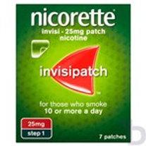 NICORETTE INVI 25MG PATCH NICOTINE