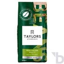 TAYLOR OF HARROGATE RICH ITALIAN COFFEE BEANS 227 G