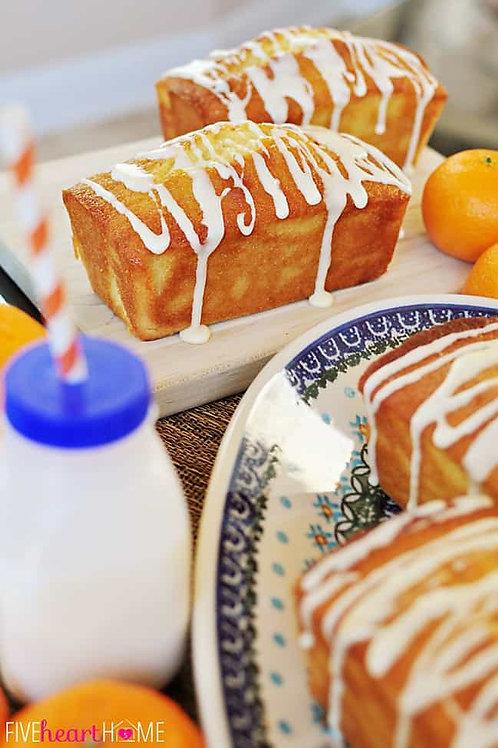Orange & Lemon Drizzle Mini Loaf