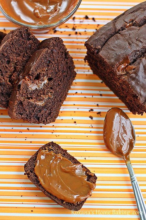 Chocolate & Dulce de Leche Mini Loaf