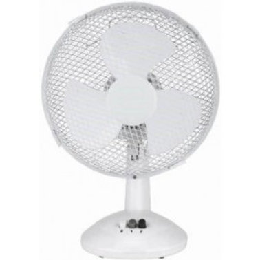 "DAEWOO 12"" ELECTRIC OSCILLATING WORKTOP DESK TABLE AIR COOLING FAN"
