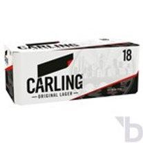 CARLING ORIGINAL LAGER 18 X 440 ML