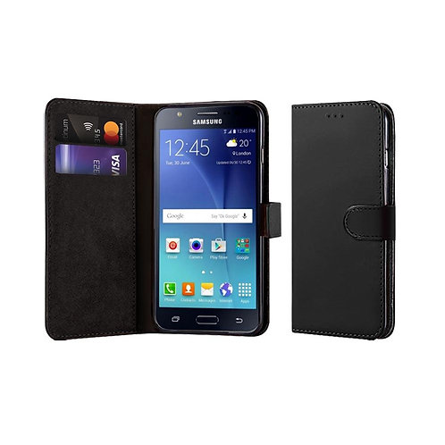 COMPATIBLE BOOK CASE WITH WALLET SLOT FOR SAMSUNG J7 (J710) (2016)