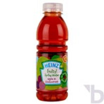 HEINZ 6+ MONTHS FRUITY! SPRING WATER!