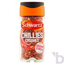 SCHWARTZ CRUSHED CHILLIES 29 G JAR