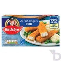 BIRDS EYE 20 COD FISH FINGERS 560 G