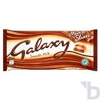 GALAXY SMOOTH MILK CHOCOLATE MORE TO SHARE BAR 200 G