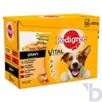 PEDIGREE ADULT 1+ WET DOG FOOD POUCHES