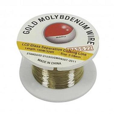 BAKU GOLD MOLYBDENUM WIRE 0.08 MM