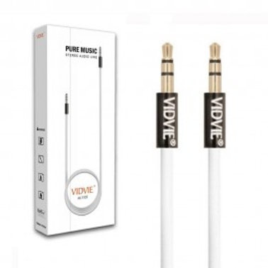 PURE MUSIC STEREO AUDIO LINE 3.5 MM AUX TO AUX CABLE 1.5M