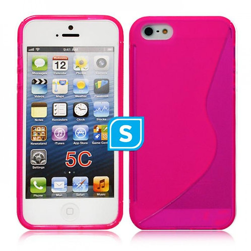 S-Line Gel Case Compatible For Iphone 5C - Pink