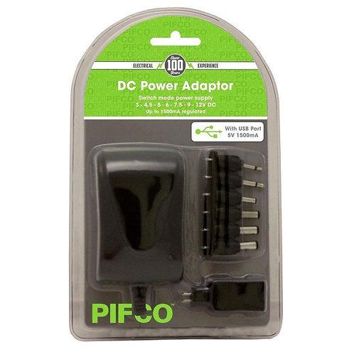 PIFCO AC DC ADAPTOR POWER PLUG 1500 MAH ELA1134GE