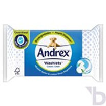 ANDREX CLASSIC CLEAN WASHLETS SINGLE PACK 40