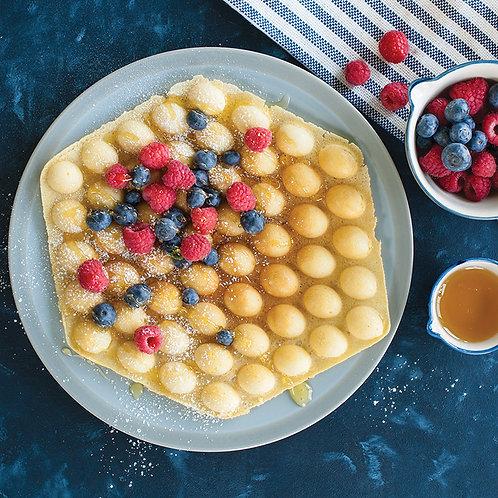 Berries Bubble waffle