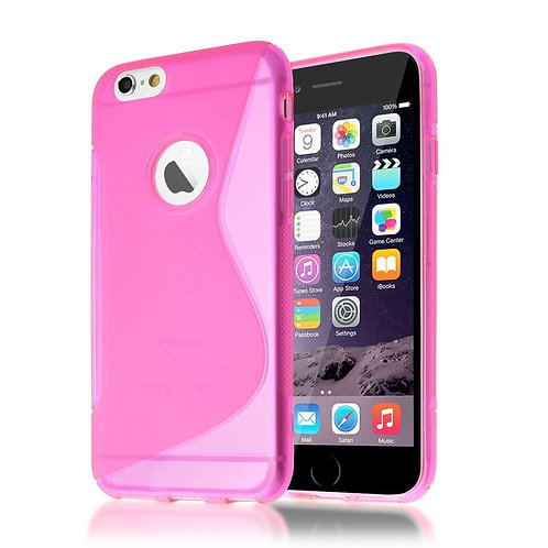 S-LINE GEL BACK CASE SKIN COVER FOR IPHONE 6/6S IN HOT PINK