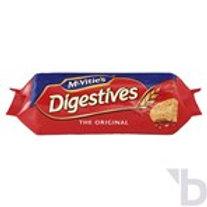 MCVITIE DIGESTIVES THE ORIGINAL BISCUITS 250 G