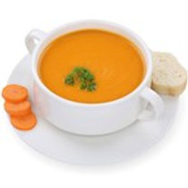 FRESH CARROT AND CORIANDER SOUP 600 G