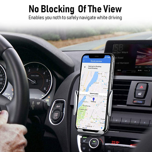 ANG 309 WIRELESS MAGNETIC CAR CHARGER MOUNT