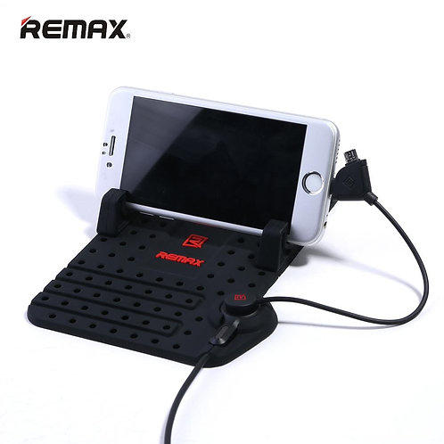 REMAX FLEXIBLE CAR HOLDER WITH CHARGING PORT