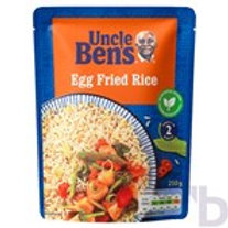 UNCLE BENS EGGS FRIED MICROWAVE RICE 250 G