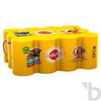 PEDIGREE WET DOG FOOD TINS MIXED SELECTION