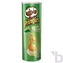 PRINGLES SOUR CREAM & ONIUN CRIPS 200 G