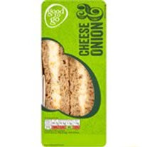 CHEESE AND ONION SANDWICH 1 SERVING