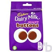 CADBURY DAIRY MILK GIANT BUTTONS CHOCOLATE BAG 119 G