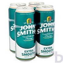 JOHN SMITHS EXTRA SMOOTH ALE 4 X 440 ML CANS