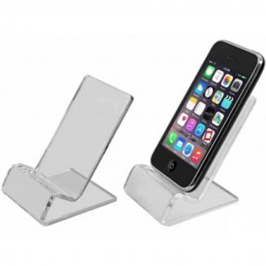 CLEAR PHONE STAND HOLDER FOR SMART PHONES