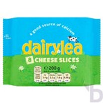 DAIRYLEA CHEESE SLICES 8 PACK 200 G