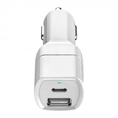 ANG CC16C DUAL USB AND PD CAR CHARGER 2.1A
