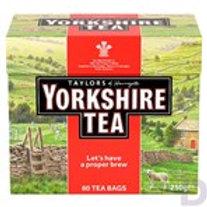 TAYLORS OF HARROGATE YORKSHIRE TEA 80 TEA BAGS 250 G