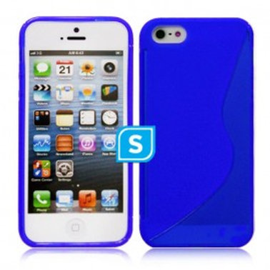 S-LINE CASE COMPATIBLE FOR IPHONE 5/5S - BLUE