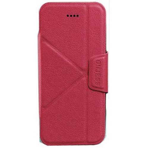 ONJESS LEATHER FLIP CASE FOR IPHONE 7 RED