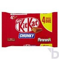KIT KAT CHUNKY MILK CHOCOLATE BAR 32 G 4 PACK