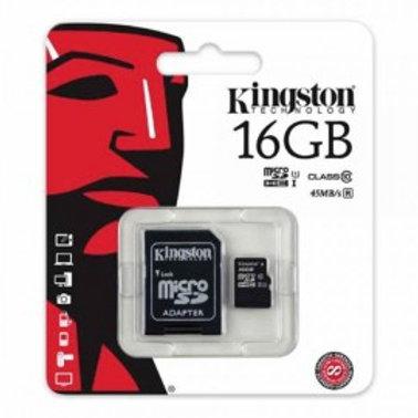 KINGSTON 16GB MICRO SD CLASS 10