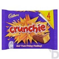 CADBURY CRUNCHIE CHOCOLATE BAR 4 PACK 128 G