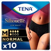 TENA SILHOUETTE NORMAL NOIR INCONTINENCE