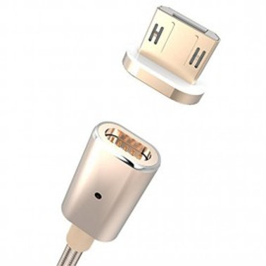 METAL MAGNETIC DATA CABLE FOR IOS AND ANDROID SMARTPHONES