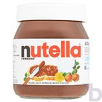 NUTELLA HAZELNUT AND CHOCOLATE SPREAD JAR 400 G