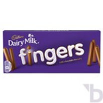 CADBURY FINGERS CHOCOLATE BISCUITS 138 G