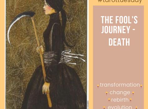 TarotTuesday: The Fool's Journey - Death