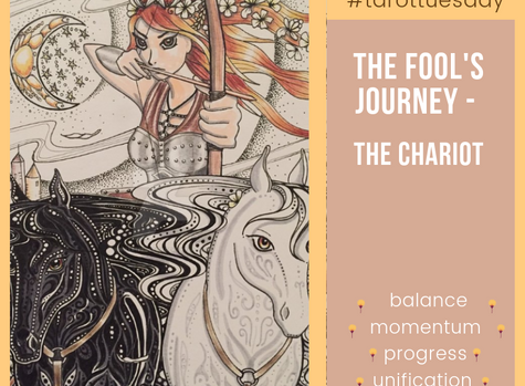 Tarot Tuesday:  The Fool's Journey - The Chariot