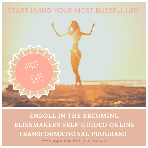 BECOMING BLISSMAKERS ONLINE COURSE
