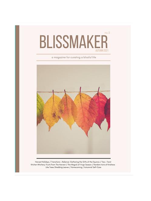 Blissmaker Magazine: Autumn 2021 (no. 3)