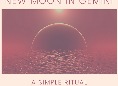 New Moon in Gemini: some thoughts + a ritual